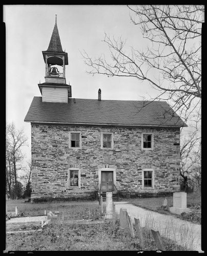 Photo: Grace, Lower Stone, bell tower, Church, Faith, North Carolina, Architecture, South, 1938 . Si by Infinite Photographs