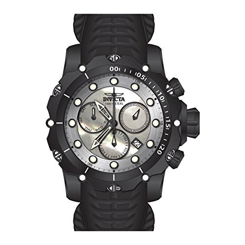 (Invicta Men's 26246 Venom Quartz Chronograph White Dial Watch)