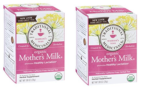 Traditional Medicinals Mother's Milk Women's Tea Organic, 16 CT