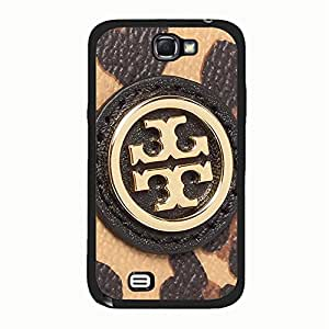 Samsung Galaxy Note 2 N7100 Cover,Famous Brand Tory Burch Phone Case Vintage Custom Tory Burch Logo Protective Case Cover Fashion American Sports Style