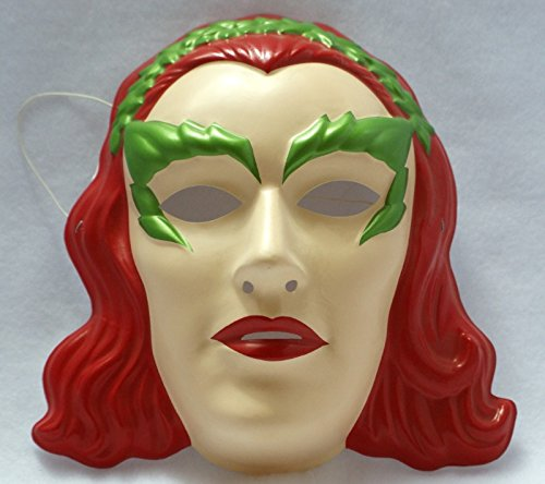 [DC COMICS BATMAN POISON IVY HALLOWEEN MASK PVC VILLIAN CHARACTER] (1980s Movie Character Costumes)