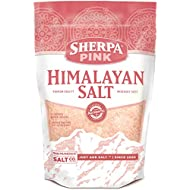 Sherpa Pink Himalayan Salt, 2 lbs. Extra-Fine Grain. Incredible Taste. Rich in Nutrients and Minerals to Improve Your Health. Add to Your Cart Today.