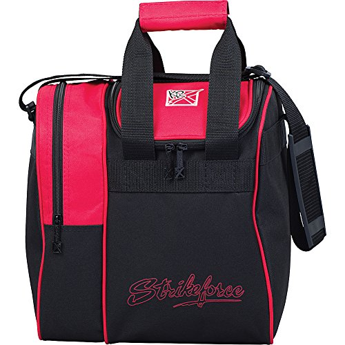 KR Strikeforce Bowling Bags KR Rook Single Tote Bowling Bag- Red, Red