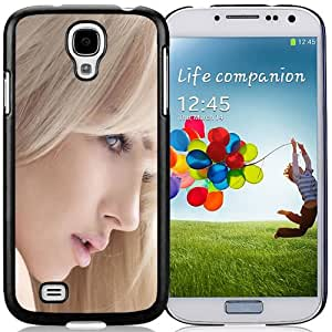 New Fashion Custom Designed Skin Case For Samsung Galaxy S4 I9500 i337 M919 i545 r970 l720 Phone Case With Phone Case For Lovely Blonde Girl Phone Case Cover