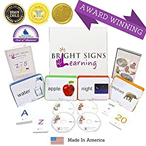 Early Reading Program for Babies, Preschoolers and Toddlers- Phonics, Sight Words, Sign Language: Bright Signs Learning