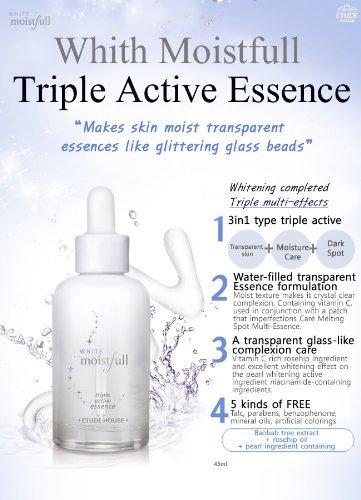 Etude House White Moistfull Triple Active Essence 40ml