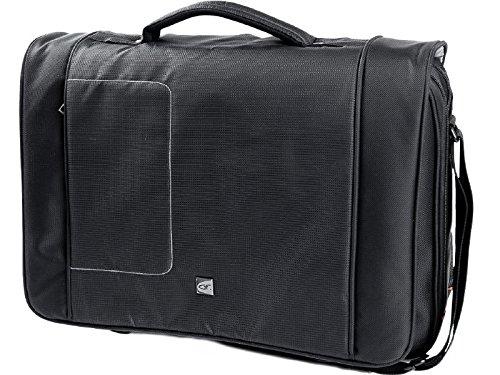 Gino Ferrari Men's Brizo Lightweight Laptop And Tablet Combi Messenger Bag 17 In - Online Store Ferrari