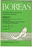 img - for Quaternary Stratigraphy of Norden, a Proposal for Terminology and Classification | Academic Offprint, Boreas, Vol. 3, Nr. 3. 109 - 126, 1974. book / textbook / text book