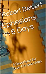 Ephesians in 6 Days: A Devotional for Busy Christian Men (Golden Pages, Golden Words Book 1)