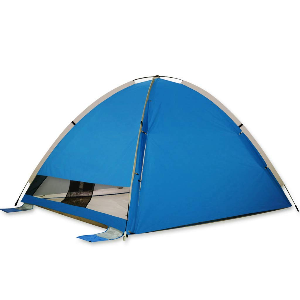 人気満点 ビーチテント、12人用家族用テント、4色 B07P5D7D68 (色 (色 : 青) : 青 B07P5D7D68, 磁気ネックレスの通販ほぐしや本舗:c03e00d9 --- ciadaterra.com