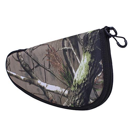 Waxaya Soft Pistol Rug Handgun Case Range Bag Without Handles (Camo, 13inch)