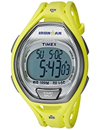 Timex Unisex TW5K961009J Ironman Sleek Digital Display Quartz Green Watch