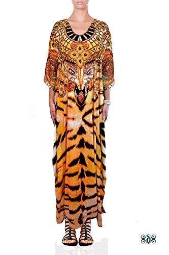 camilla print dress - 8
