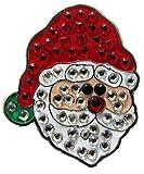 Navika Santa Claus Swarovski Crystal Ball Marker with Hat Clip