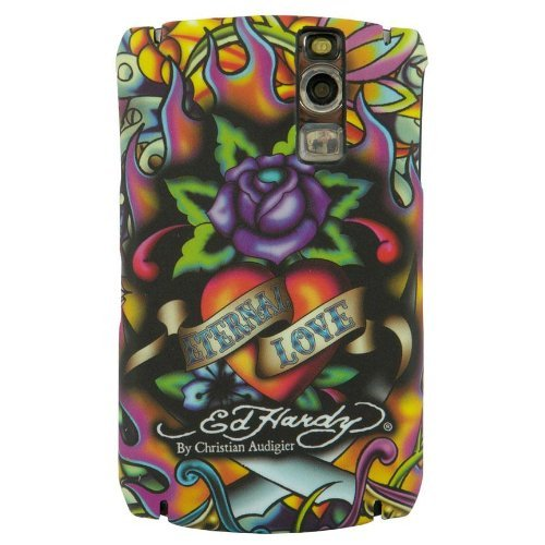 Ed Hardy Faceplate for BlackBerry Curve 8300 - Eternal Love Tattoo