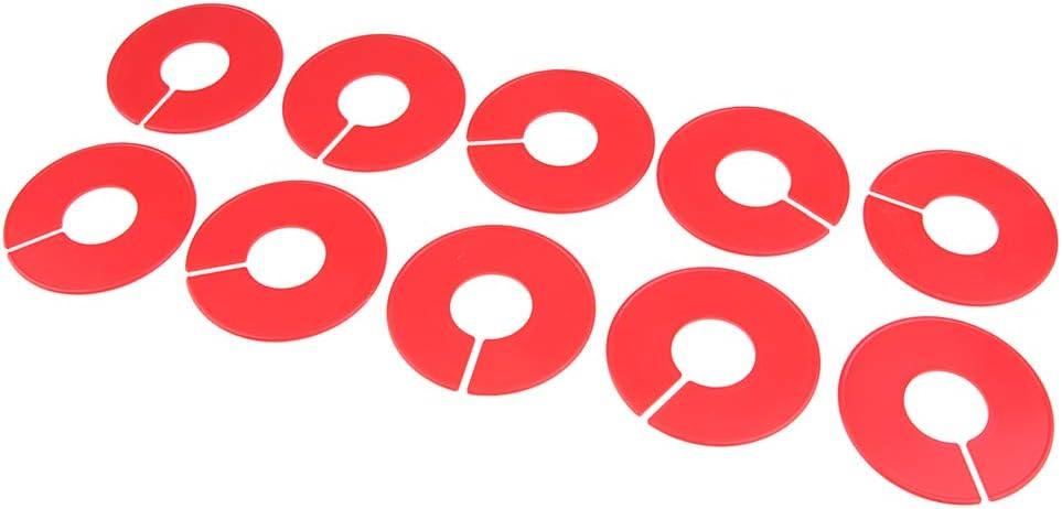 Gr/ö/ßentrenner Gr/ö/ßenreiter f/ür Gr/ö/ßenkennzeichnung auf Kleiderstangen perfk 10stk Gr/ö/ßenfinder Gr/ö/ßenscheiben Bekleidungsgr/ö/ßen Trenner Dunkelblau