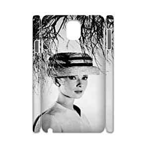 C-EUR Diy Case Audrey Hepburn,customized Hard Plastic case For samsung galaxy note 3 N9000