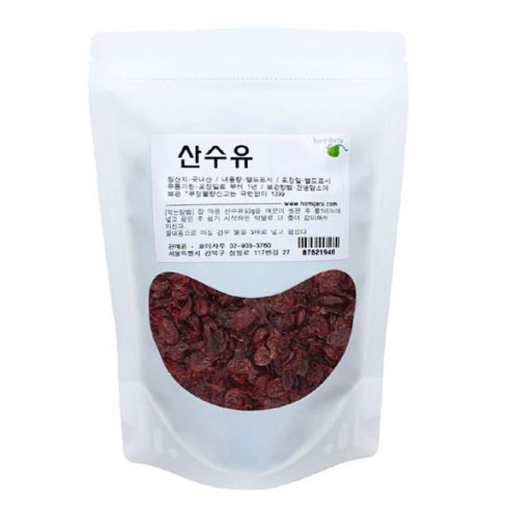 Korean Natural Cornelian Cherry Dried Bulk Herbs 10.5oz(300g) 산수유
