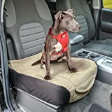Cheap Kurgo Waterproof Shorty Car Bucket Seat Cover for Dogs, Hampton Sand Khaki