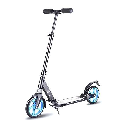 Patinetes Scooter Plegable para Adultos: 2 Ruedas Grandes de ...