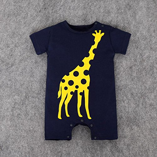 872988c0d351 60%OFF Toddler Baby Boys Girls Summer Clothes Cute Animal Print ...