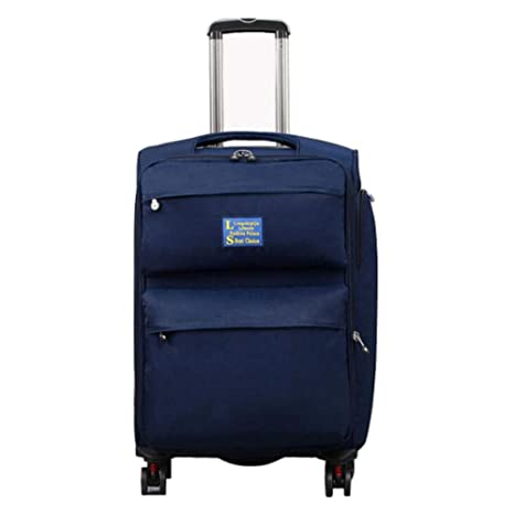 Color : Blue, Size : 22 Travel Bag Waterproof and Durable Luggage SuitcasesTravel Bags Trolley Case Carry On Hand Luggage Durable Hold Tingting