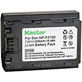 Kastar Battery 1 Pack for Sony NP-FZ100 BC-QZ1 and Sony Alpha 9, Alpha A9, Alpha 9R, Alpha A9, Alpha A9R, Alpha a9S, Alpha A7R III, Alpha A7R3, Alpha ILCE-7RM3 Camera