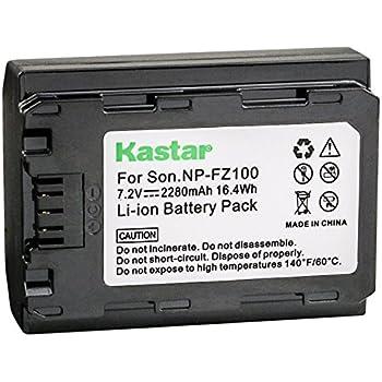 Amazon.com: Kastar Cargador USB, Batería para np-fz100 – 1 ...