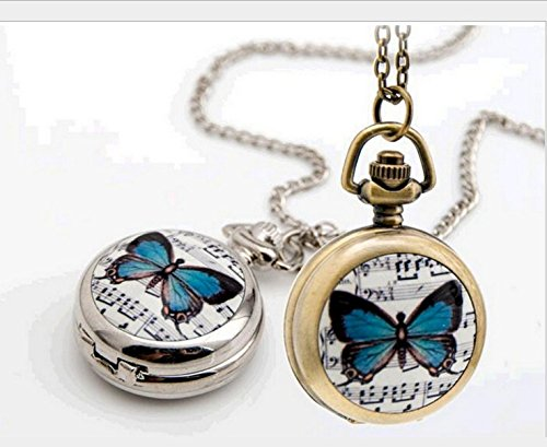Pocket Watches Bronze Tone - 4
