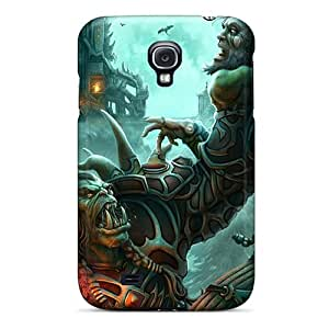 Fashionable PYsAZ17625YUKEs Galaxy S4 Case Cover For World Of Warcraft Orc Protective Case