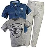 Quad Seven Little Boy\\\\\\\'s 3-Piece Short Sleeve