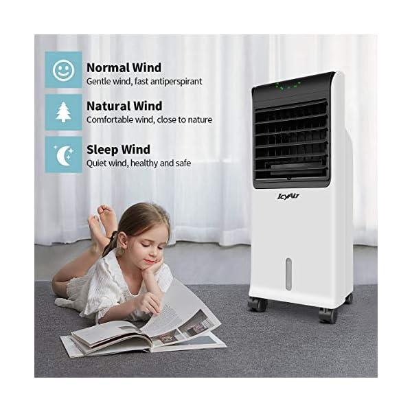 IcyAir Condizionatore Portatile, Raffreddatore d'Aria con Funzione di Purificazione dell'Aria, Ventilatore di… 2 spesavip