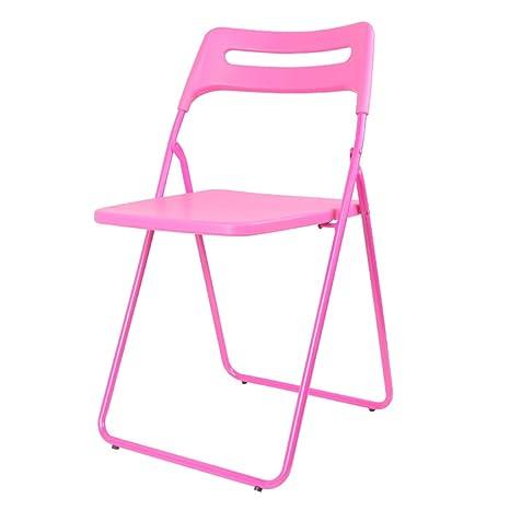 Amazon.com: Sillas plegables para oficina, silla de comedor ...