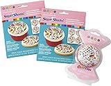 Wilton 2109-6813 Dylan's Candy Bar Cupcake Decorating Set, Assorted