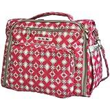 Ju-Ju-Be B.F.F. Convertible Diaper Bag, Pink Pinwheels