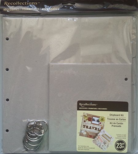 Chipboard Kit - Recollections Necessities Chipboard Kit, Large