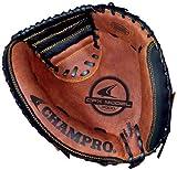 Champro FR Catcher Mitt (Black/Tan, 33.5-Inch)
