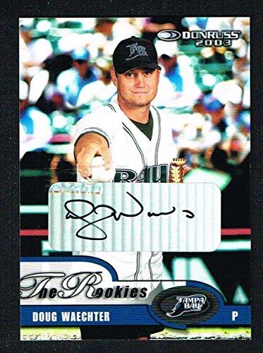 Doug Waechter signed autograph auto 2003 Donruss Baseball The Rookies 562 of ()