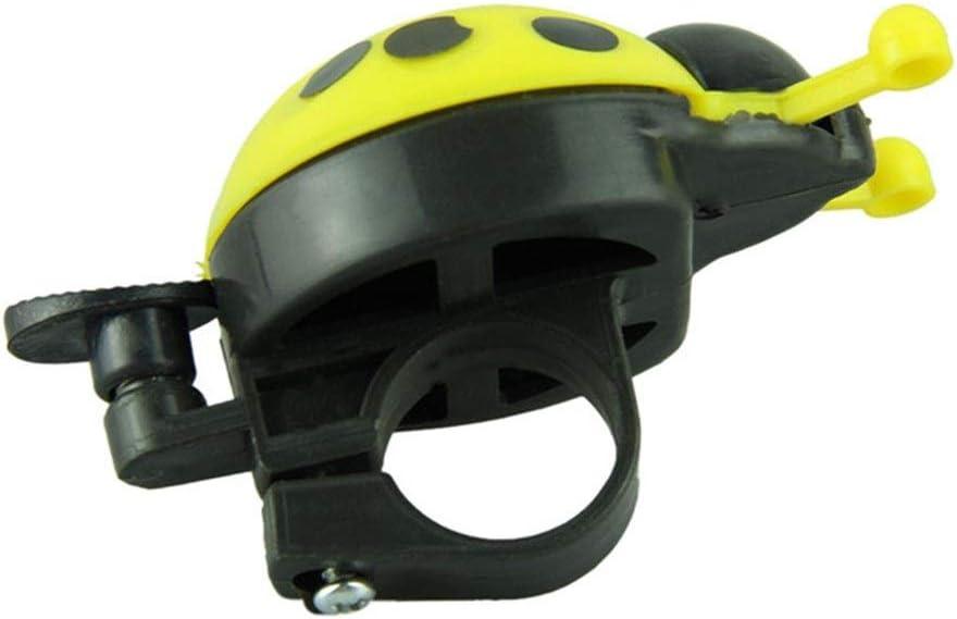 Port/átil llamada for bicicleta Ciclismo Campana de alarma de Hornos Kid mariquita anillo de Bell de la bicicleta del manillar del anillo de seguridad accesorios de ciclismo Campana de bicicleta