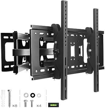 JBM Soporte de Pared TV, TV Ultra Fuerte giratoria Soporte de Pared de 17 Pulgadas a 72 Pulgadas LED LCD Plasma y Pantallas de televisión Curvas: Amazon.es: Electrónica