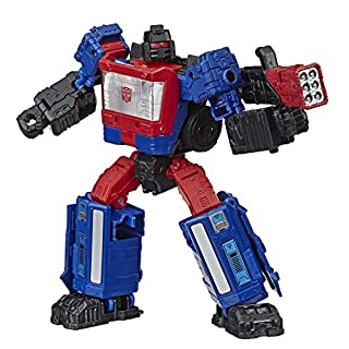 Transformers Toys Generations War for Cybertron Deluxe Wfc-S49 Crosshairs Figure - Siege Chapter - Adults & Kids Ages 8 & Up, 5