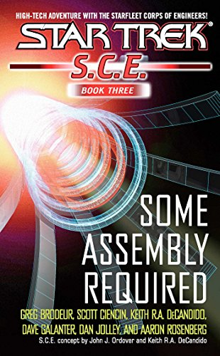 SCE Omnibus Book 3: Some Assembly Required (Star Trek: Starfleet Corps of Engineers)
