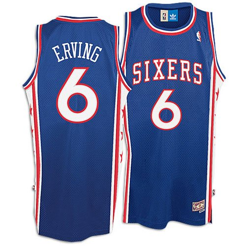 low priced d90d6 6efa6 Amazon.com : Julius Erving #6 Philadelphia 76ers Youth ...