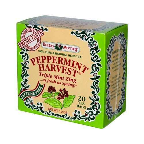 Peppermint Harvest Triple Mint Zing Tea 20 Bag(S) by Breezy Morning Teas