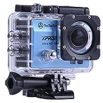 TecTecTec XPRO2 Action Camera Ultra HD 4K - WiFi Camera di altissima qualità Ultra HD