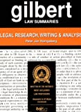 Legal Research, Writing and Analysis, Honigsberg, Peter Jan, 0159004365