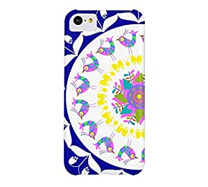 Birds pattern iPhone 5c Duke blue Barely There Phone Case - Design By Humans