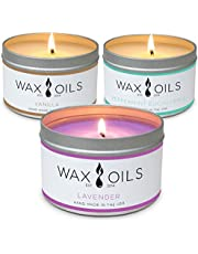 Wax and Oils Scented Soy Candles - 8oz - Hand Made in the USA