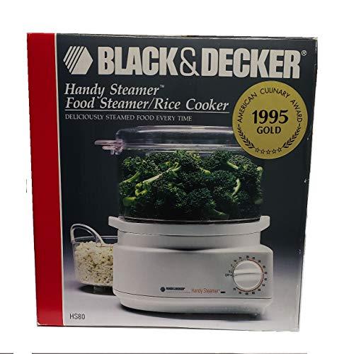 Black & Decker HS80 Handy Steamer Rice Cooker