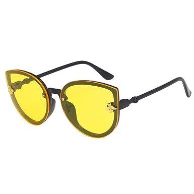 Mxssi Ojo de gato Gafas de sol Chicos Chicas Vintage ...